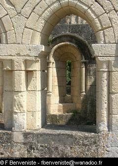 Abbaye de Boschaud par François Benveniste