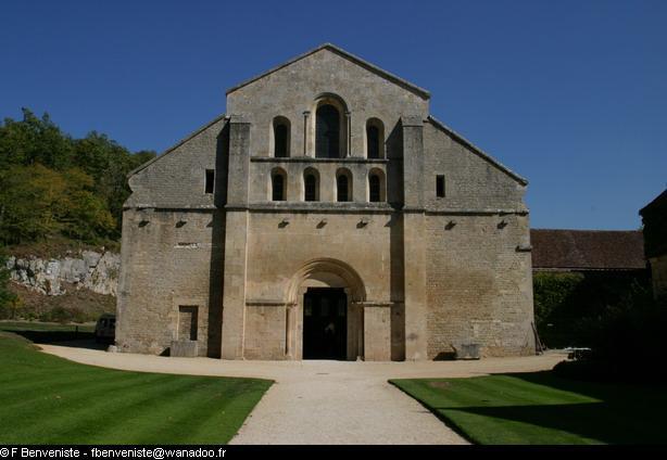 Abbaye de Fontenay par François Benveniste