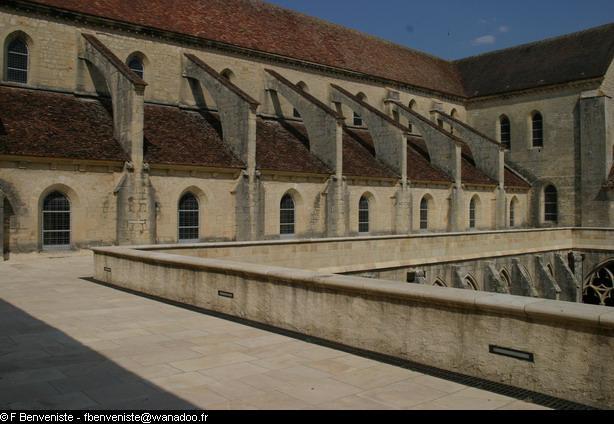 Abbaye de Noirlac par François Benveniste